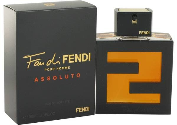 Fan Di Pour Homme Assoluto Cologne By Fendi Camo Bluu