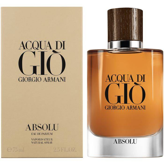 Acqua Di Gio Absolu Cologne By Giorgio Armani Camo Bluu Fragrance